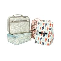 Keep Leaf - Insulated Lunchbox with Coating - Hearts - Little Earth Farm