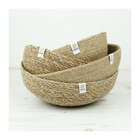 Respiin Jute Bowl - Large - Natural - Little Earth Farm