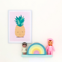 Kids Boetiek Rainbow Case - Pastel - Little Earth Farm