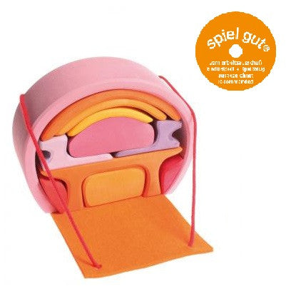 Grimms Mobile Home Pink Orange