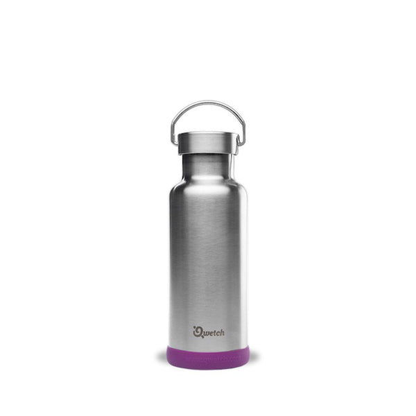 qwetch plastic free insulated stainless steel bottle 500ml