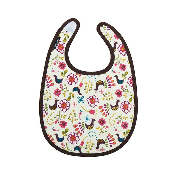 Keep Leaf - Baby Bib - Birds