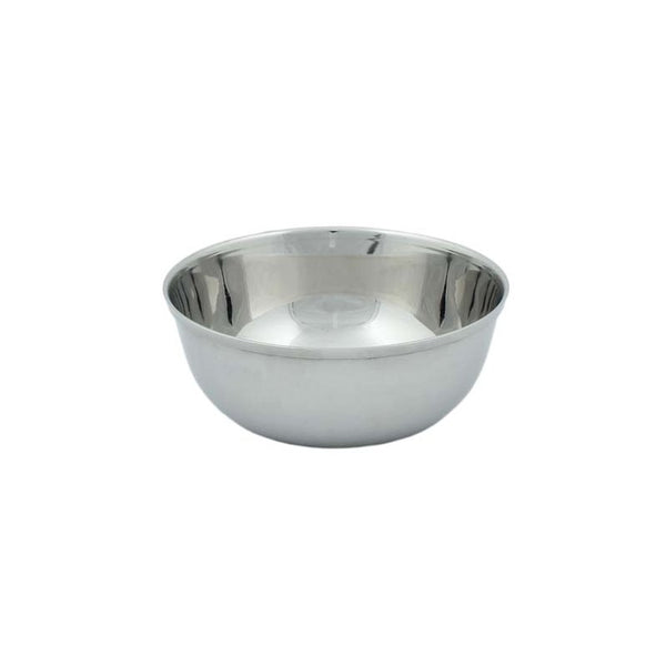 A Slice of Green - Round Stainless Steel Bowl - 11.5cm - Little Earth Farm