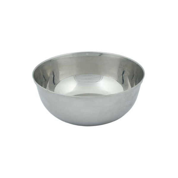 A Slice of Green - Round Stainless Steel Bowl - 14.5cm - Little Earth Farm