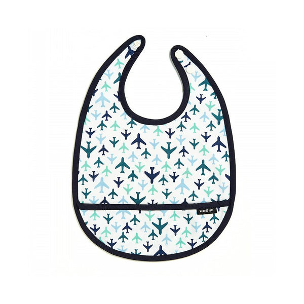 Keep Leaf - Toddler Bib - Planes