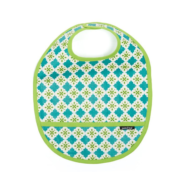 Keep Leaf - Toddler Bib - Tiles