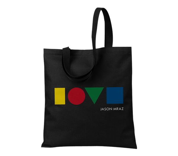 Love is a Four Letter Word Tote - Jason Mraz