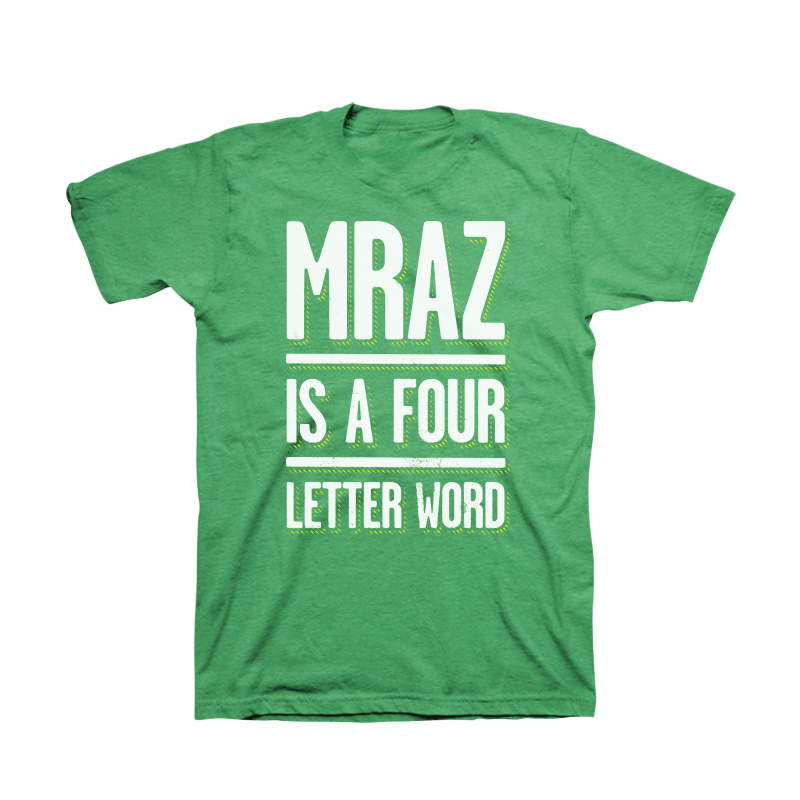 4 Letter Word Men's T-Shirt - Jason Mraz