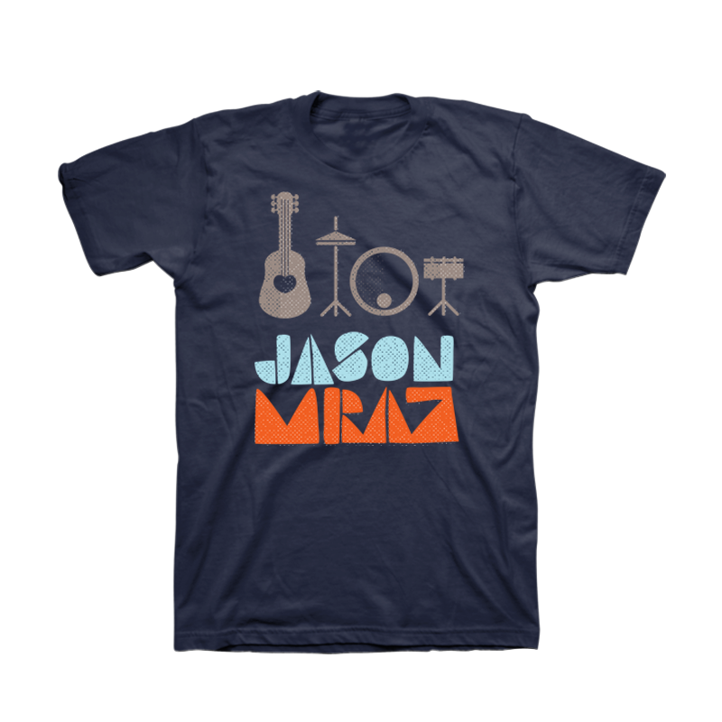 Instruments Men's T-Shirt - Jason Mraz