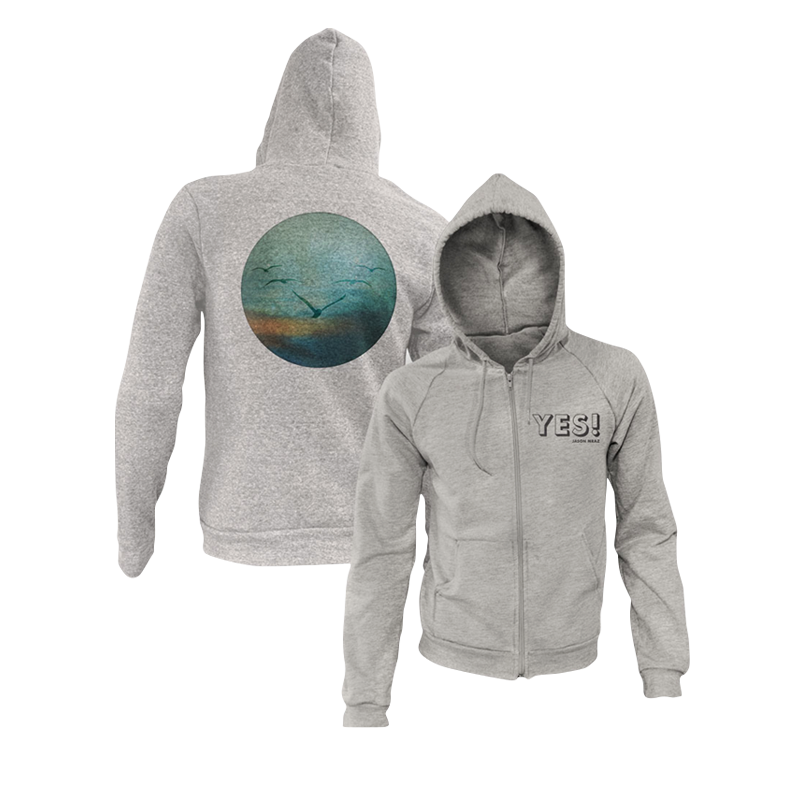 Yes! Zip-Up Hoodie - Jason Mraz