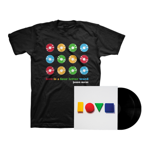 Love Is A Four Letter Word Double LP + Tee Bundle