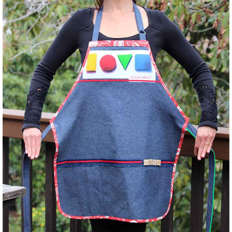 Love Album Apron - Jason Mraz  - 1