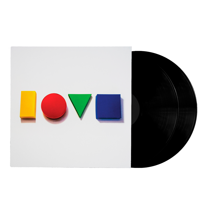 Love Is A Four Letter Word Double LP - Jason Mraz