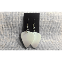 Vinyl Record Earrings (White) - Jason Mraz  - 2