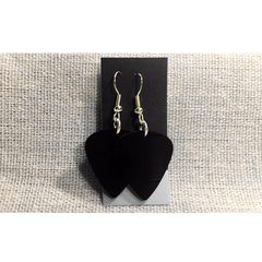 Vinyl Record Earrings (Black) - Jason Mraz  - 2