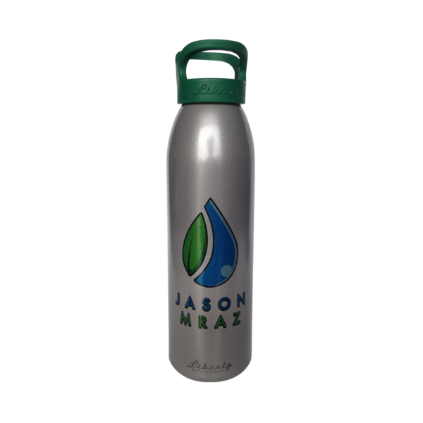 Recycled Aluminum Water Bottle - Jason Mraz