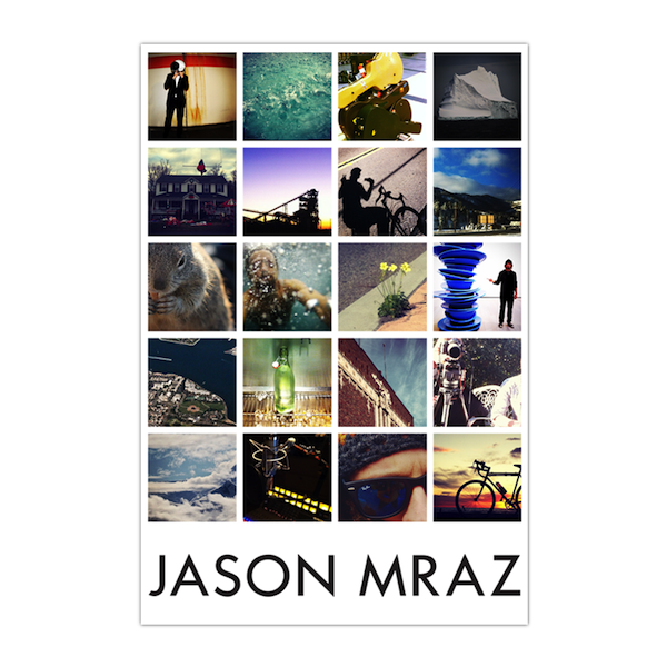 Instagram Poster Wrapping Paper - Jason Mraz  - 1