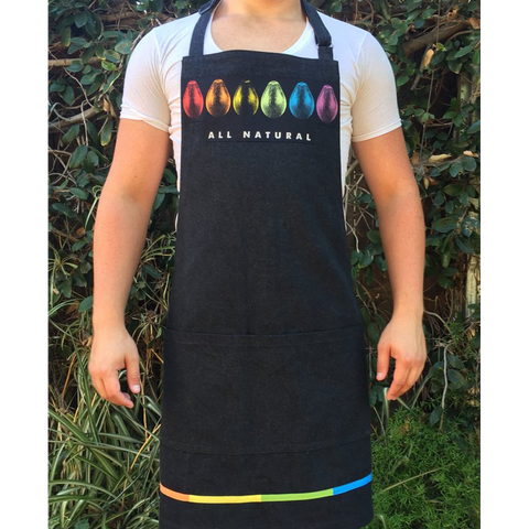 Rainbow Avocado Apron