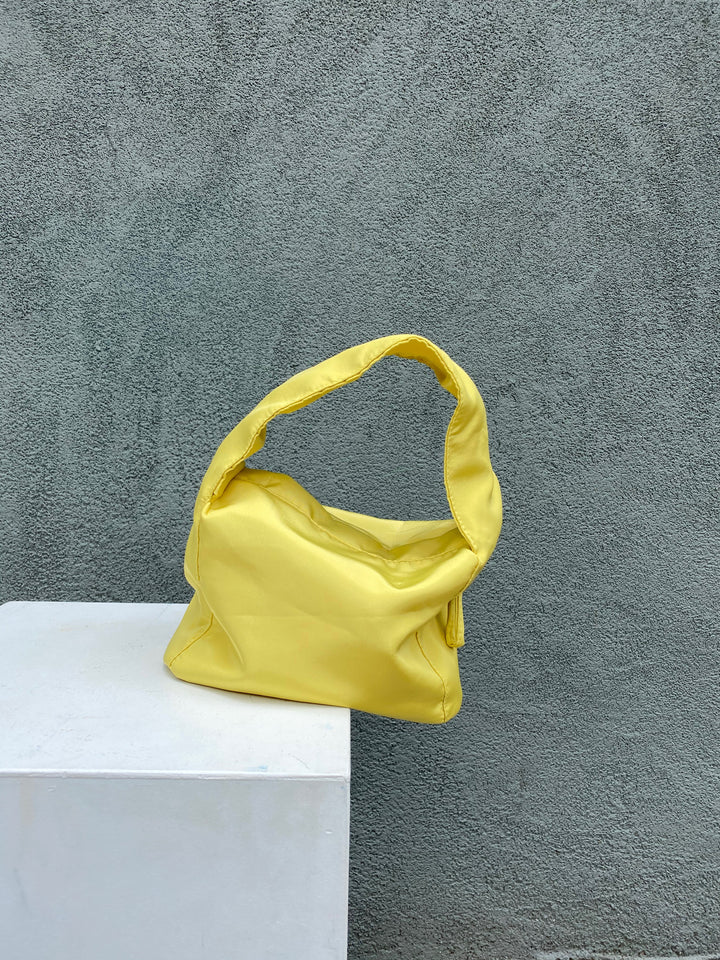 Wrinkle Bag Yellow