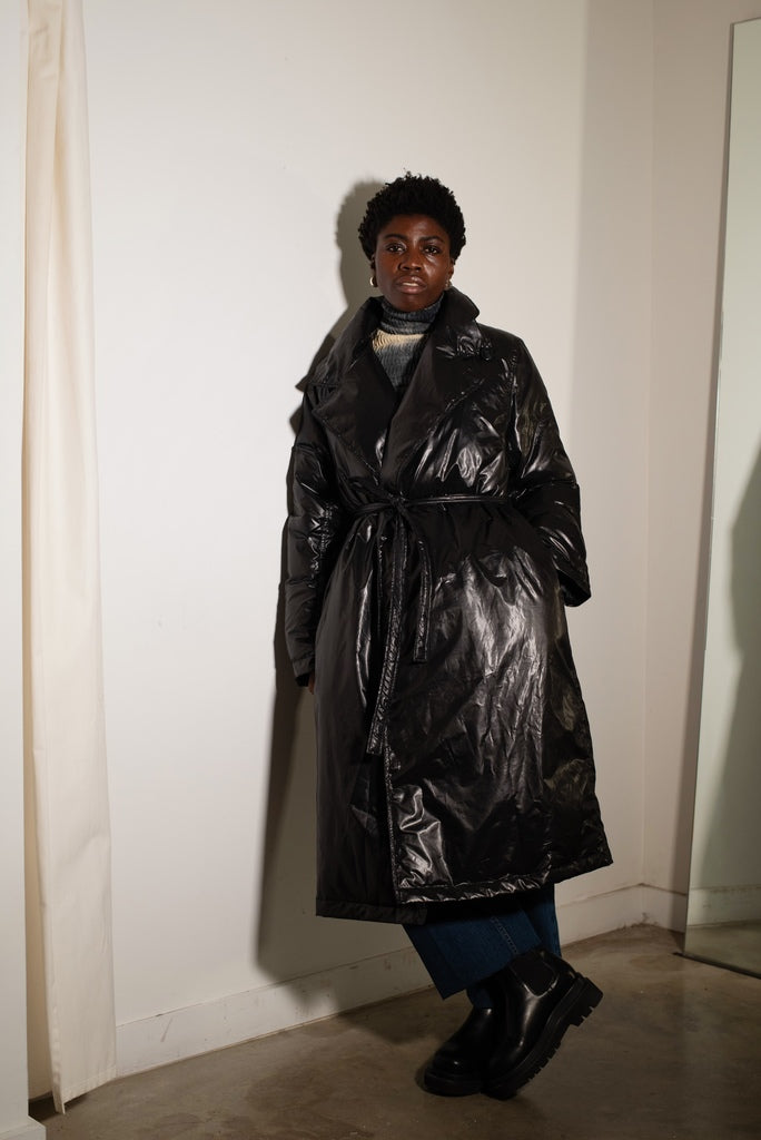 Rion Trench Coat Black