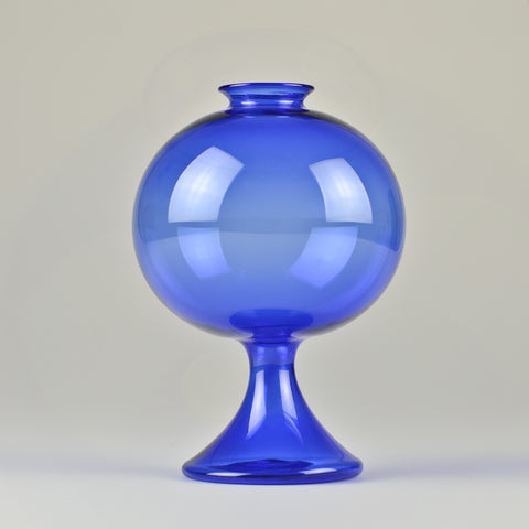 1950's Lauscha 'Bubble' Glass Vase by Albin Schaedel