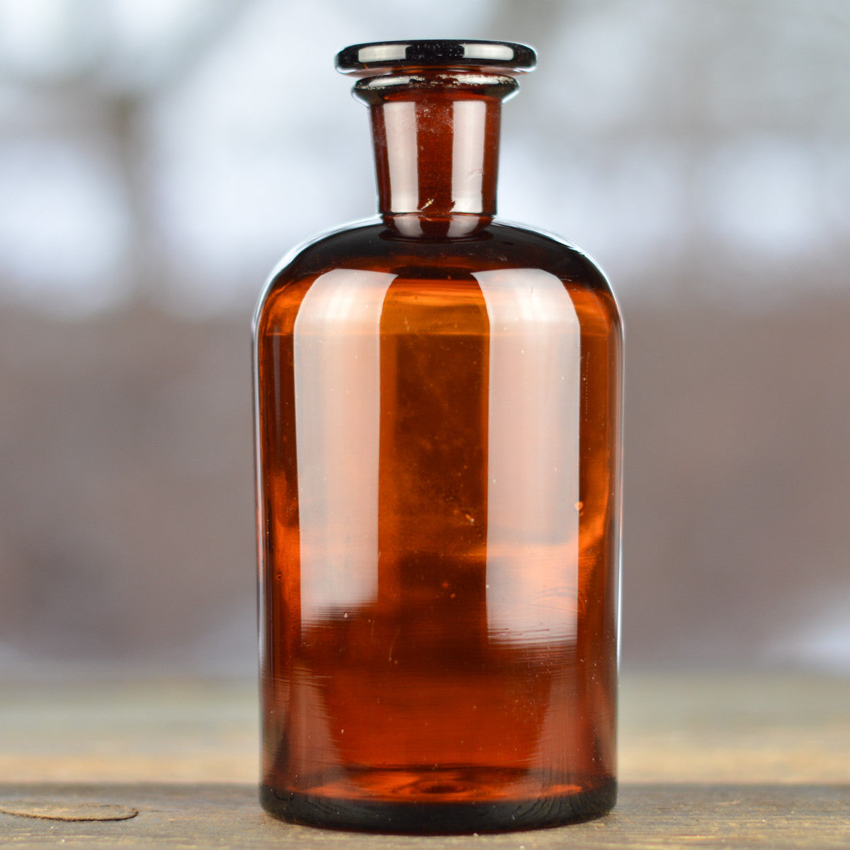 1930's - 1940's Apothecary Jar with Round Stopper