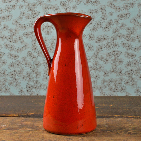 Mid Century Gräfl Ortenburg Vase with a Handle
