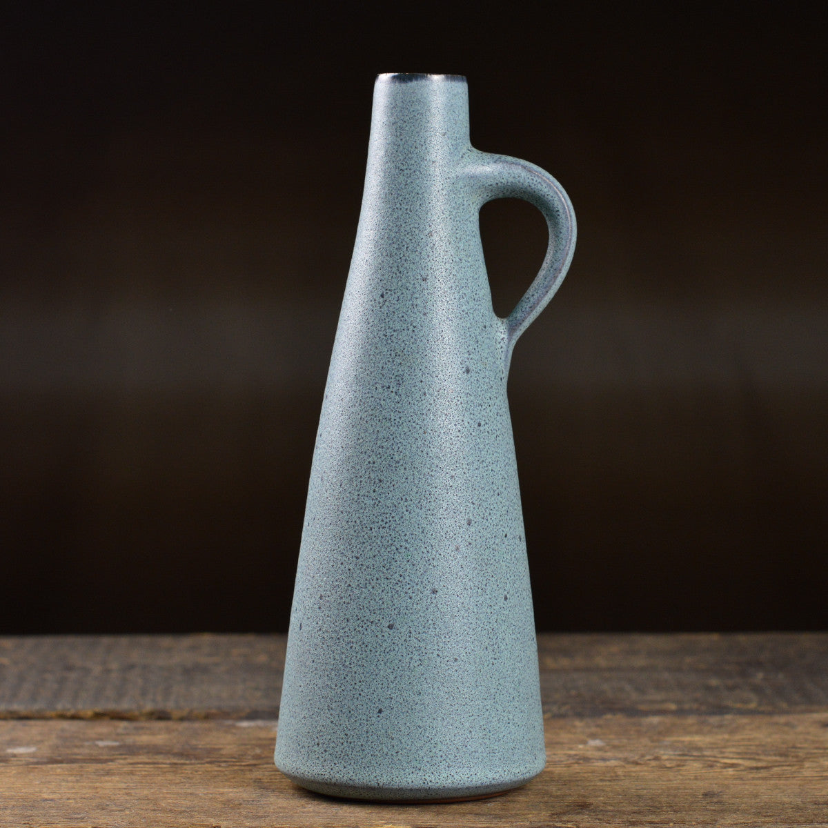 Mid Century 'Granite' Vase with a Handle by Siegfried Gramann
