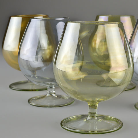 1950's – 1960's X6 Cognac Glasses
