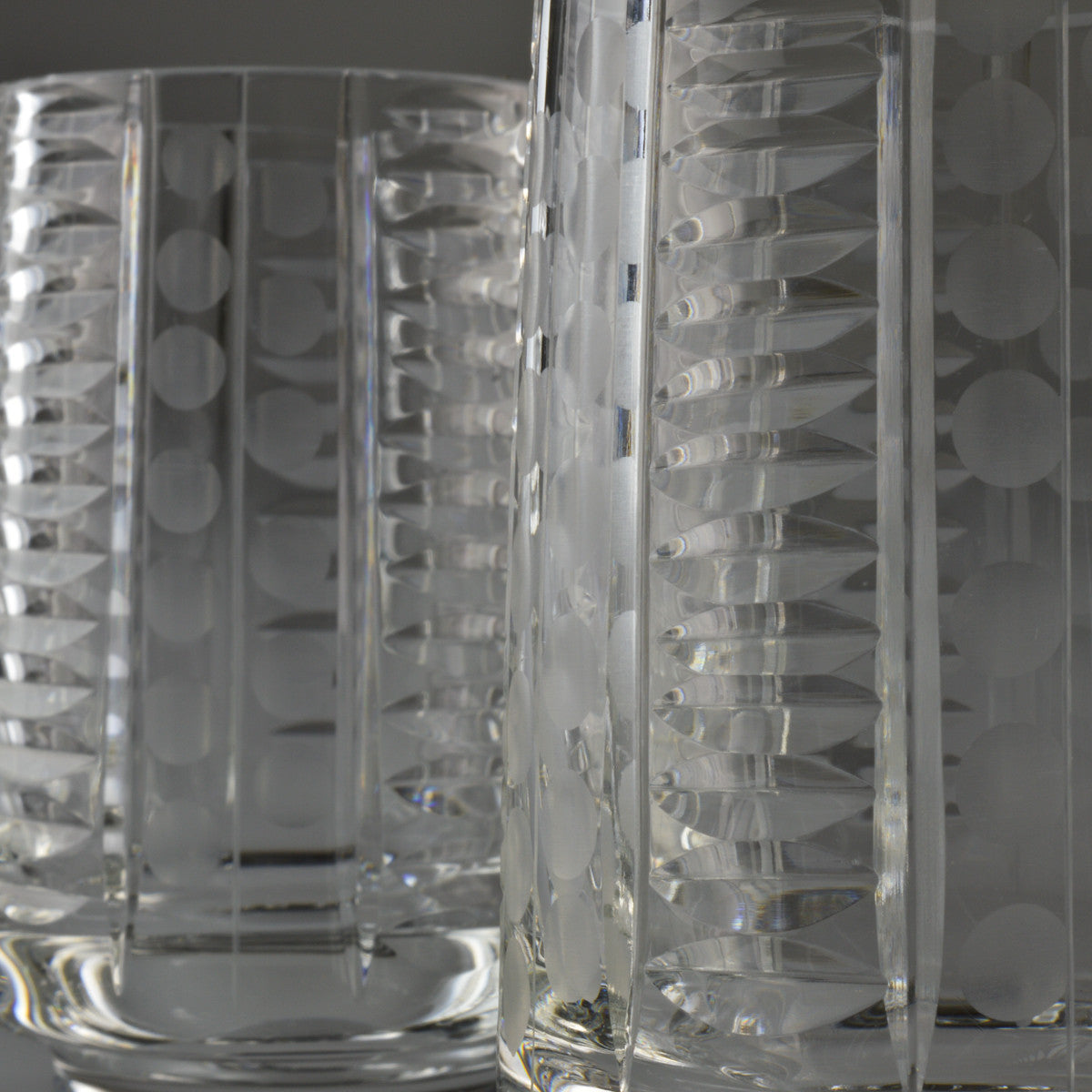1960's - 1970's X6 Crystal Shot Glasses