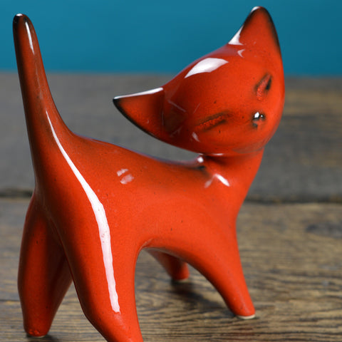 1960's Ceramic Cat Figurine