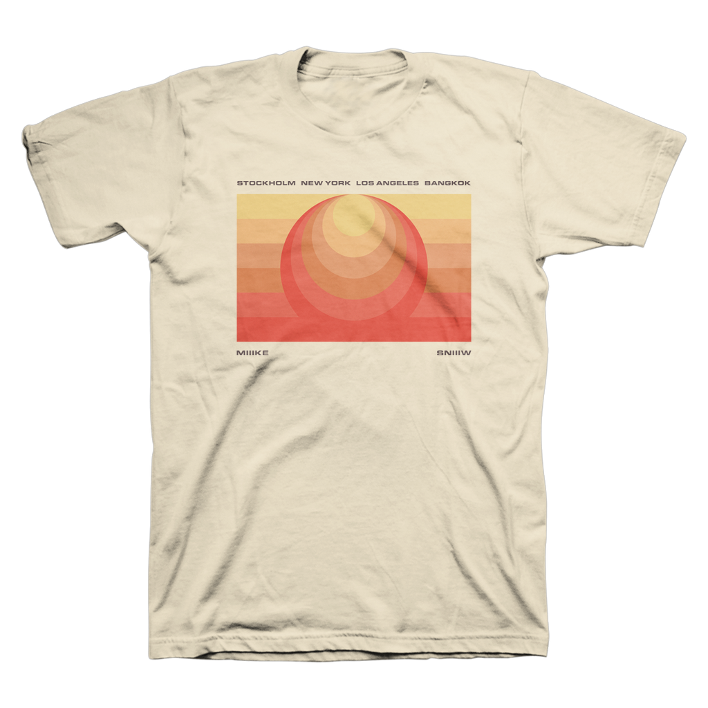 Retro Sunset Unisex Tee