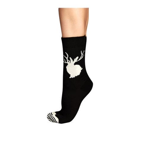 Black and White Socks - Women's