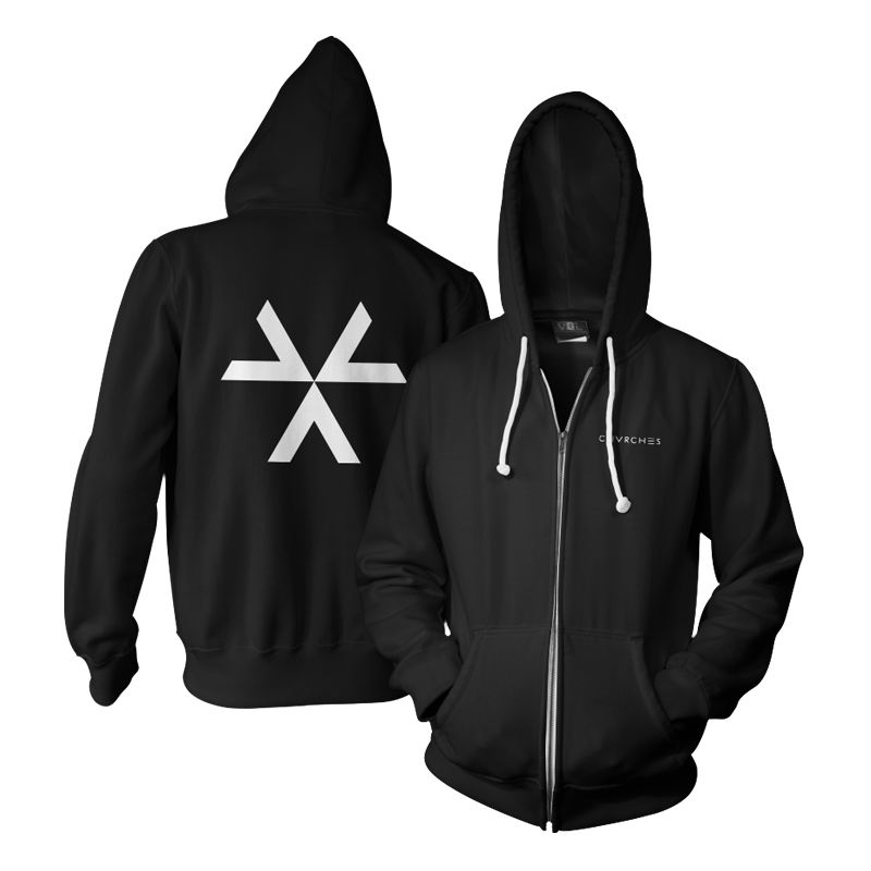 Recover Zip-Up Hoodie - Chvrches US   - 1