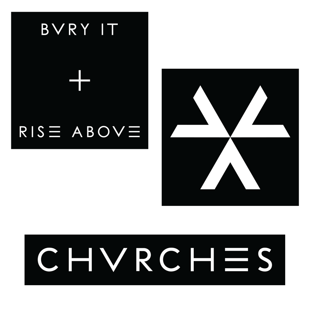 Bvry It Patch Set - Chvrches US