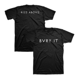Bvry It Unisex Tee (Black) - Chvrches US   - 1