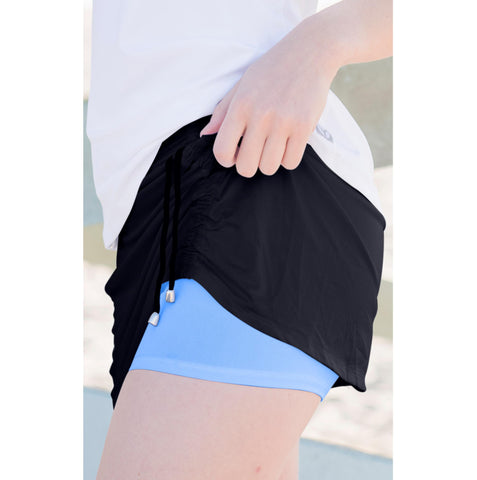 Cinch-up Skort  Black
