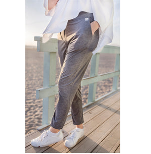 Multi Purpose;  UPF 50  jogger - Charcoal