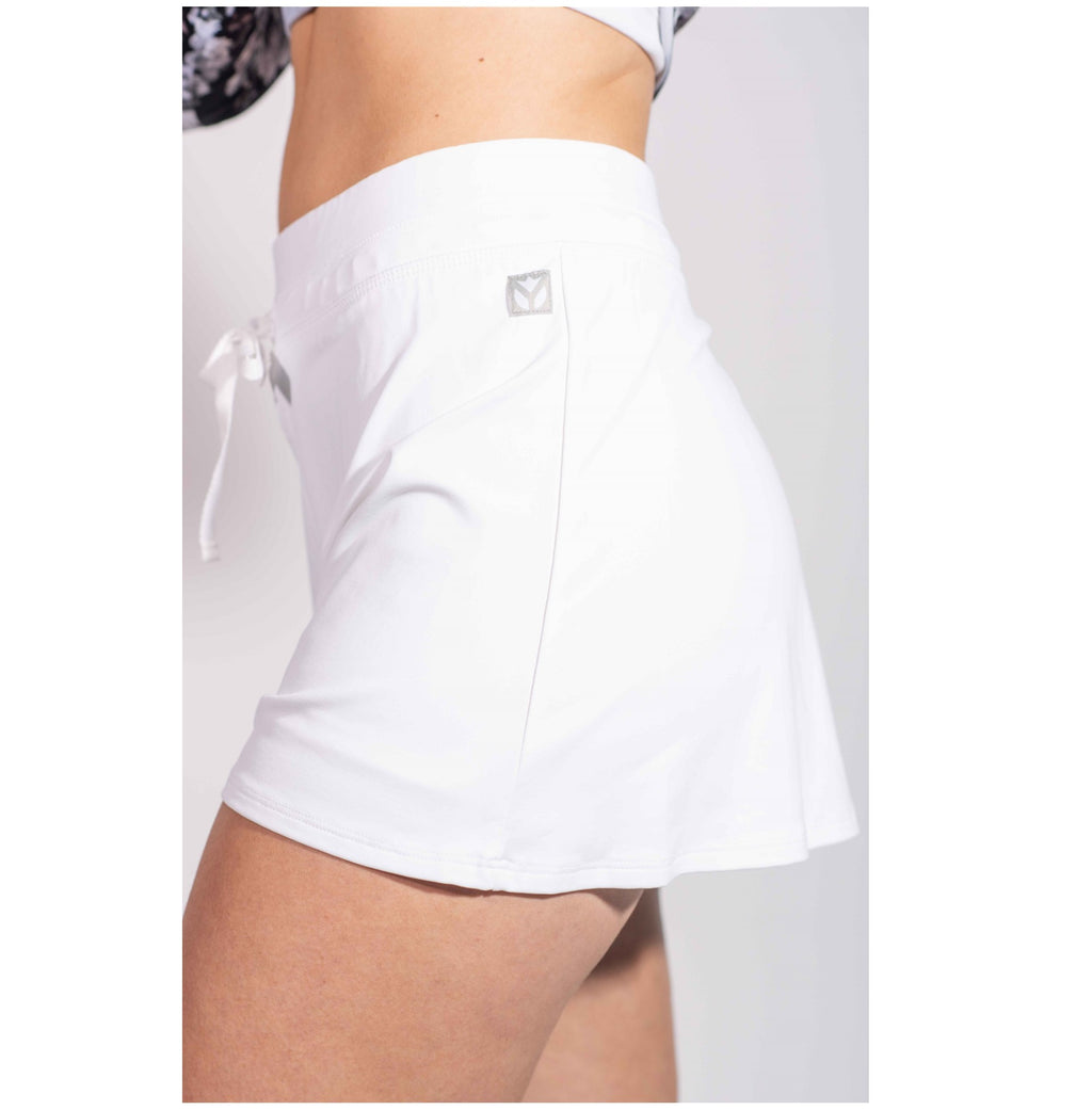 Court Short - White