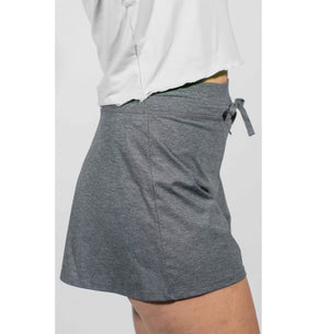 Court Short- Charcoal Heather