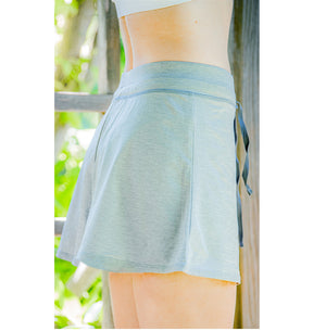 Court Short - Grey Heather