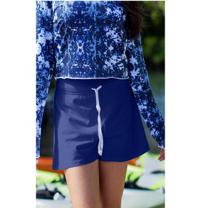 Court Short - Navy