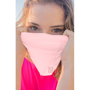 Yaffa Sun Scarf - Light Pink