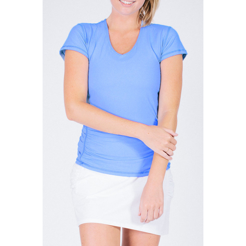 Handle Hider Short Sleeve Tee LT Blue