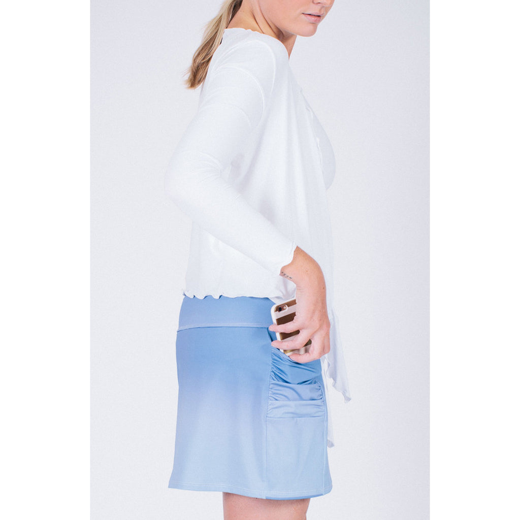 Pocket Skort Ombre Blue