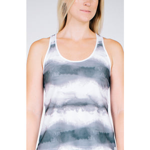 Racer Tank - Stormy Night Print