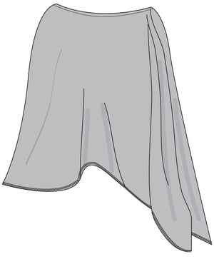 Sun Poncho -  Light Grey