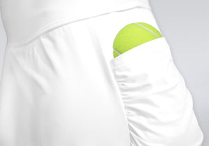 Pocket Skort White