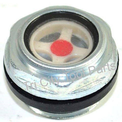 032-0072 , Oil Level Sight Glass  Coleman / Sanborn 753H , 755H  Air Compressor