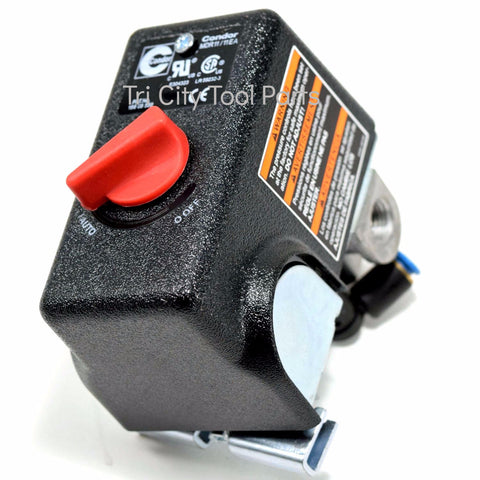 034-0184 Pressure Switch Powermate / Craftsman Air Compressor 155 / 125 PSI
